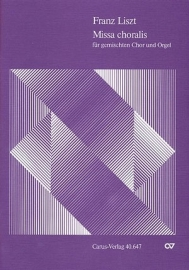 Missa choralis - Liszt | Carus