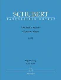 Deutsche Messe D 872 - Schubert | Barenreiter
