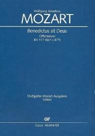 Benedictus sit Deus KV117 - Mozart | Carus