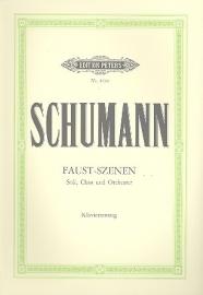 Faust-Szenen : für Soli (SATB)- Schumann | Peters