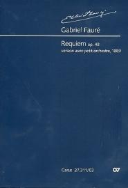 Requiem op.48 voor kamerorkest- Fauré | Carus