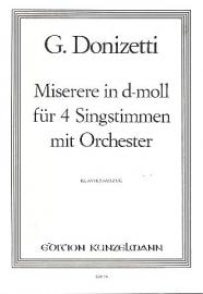 MISERERE D-MOLL - Donizetti | Kunzelmann