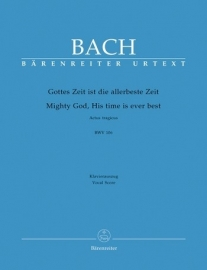 Gottes Zeit ist die allerbeste Zeit , Kantate 106 BWV106- Bach | Barenreiter