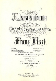 Missa solemnis - Liszt | Steffen Fischer