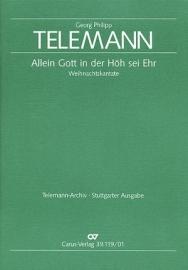 Allein Gott in der Höh sei Ehr - Telemann | Carus