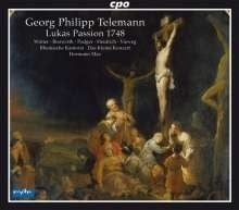 Lukas Passion (1748)- Telemann | CD