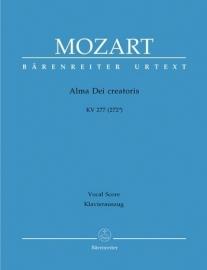 Alma dei creatoris KV277 - Mozart | Barenreiter