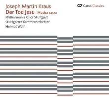 Der Tod Jesu (Oratorium 1776)- Kraus | CD