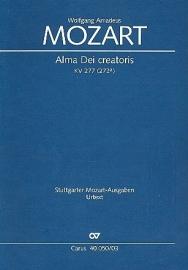 Alma Dei creatoris KV277 - Mozart | Carus