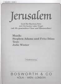 Jerusalem - Stephan Adams  | Bosworth