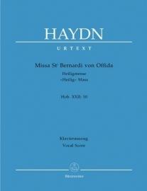 Missa St. Bernardi von Offida : Heiligmesse Hob. XXII:10-Haydn