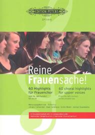 . Reine Frauensache - bundel voor vrouwenkoor ( klassiek/populair)