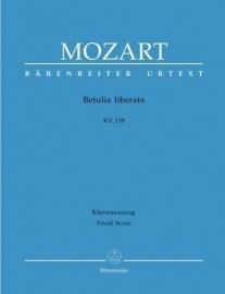 Betulia liberata KV118 (KV74c)- Mozart | Barenreiter