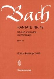 Ich elender Mensch wer wird mich erlösen, Kantate 48 BWV48 - Bach | Breitkopf