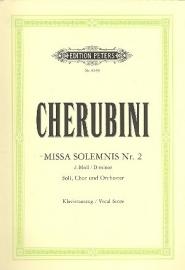 MISSA SOLEMNIS D-MOLL NR.2- Cherubini | Peters