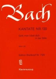 Gott man lobet dich in der Stille / Kantate 120 BWV120- Bach| Breitkopf