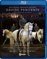 Davide Penitente |Mozart| op de paardenrijschool in Salzburg| BLU-RAY