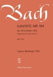 Du Hirte Israel höre : Kantate BWV104- Bach | Breitkopf