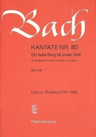 Ein feste Burg ist unser Gott : Kantate Nr. BWV80-Bach | Breitkopf
