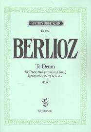 Te deum op.22 - Berlioz | Breitkopf