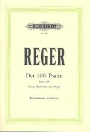 Der 100. Psalm op.106 - Reger | Peters
