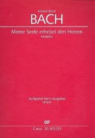 Meine Seele erhebet den Herren- Johann Ernst Bach