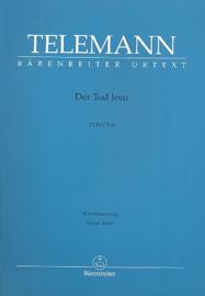 Der Tod Jesu TWV5:6 | Telemann