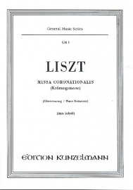 Missa coronationalis - Liszt | Kunzelmann