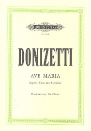 Ave Maria - Donizetti | Peters