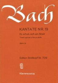 Es erhub sich ein Streit / Kantate Nr.19 BWV19 - Bach | Breitkopf