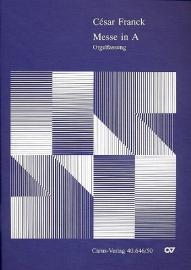 Messe A-Dur Orgelfassung  - Franck | Carus