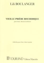 Vieille prière bouddhique - Boulanger | Durand