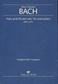Herz und Mund und Tat und Leben , Kantate 147 BWV147 - Bach | Carus