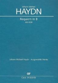Requiem B-dur MH838-Haydn | Carus