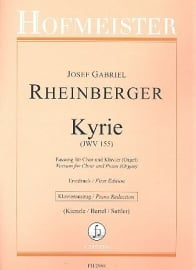 Kyrie JWV155 - Rheinberger