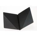 Koormap zwart / kunstleer A4 / rug 3 cm