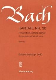 Freue dich erlöste Schar : Kantate  BWV30-Bach | Breitkopf