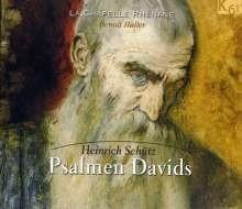 Psalmen Davids SWV 27,31,33,37,38,40,41,43,46,47- Schütz | CD