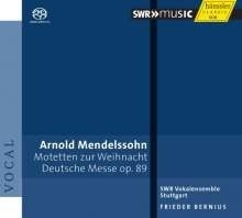 Deutsche Messe op.89 - Arnold Mendelssohn | CD