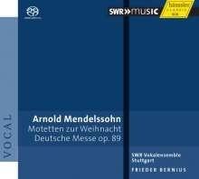 Deutsche Messe op.89 - Arnold Mendelssohn   CD