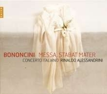 Messa a cinque concertata g-moll| Stabat Mater - Bononcini | CD
