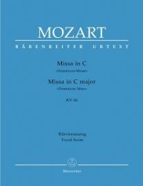 MESSE C-DUR KV66- Mozart | Barenreiter