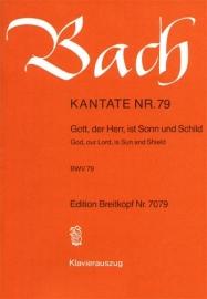 Gott der Herr ist Sonn und Schild : Kantate  BWV79- Bach | Breitkopf