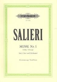 Messe D-Dur Nr.1- Salieri | Peters