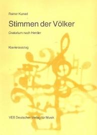 Stimmen der Völker  - Rainer Kunad