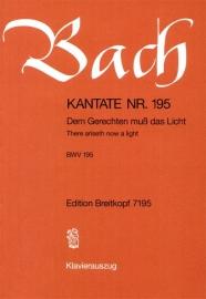 Dem Gerechten muß das Licht/ Kantate Nr.195 BWV195 - Bach | Breitkopf