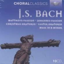 Choral Classics Bach / Grossen geistlichen Werke | 10 CD