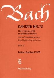 Herr wie du willt so schicks mit mir /Kantate Nr.73 BWV73- Bach | Breitkopf