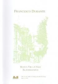 Beatus Vir a 4 voci - Durante