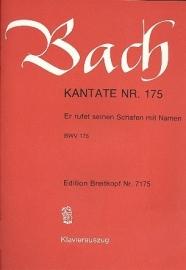 Er rufet seinen Schafen mit Namen , Kantate 175 BWV175 - Bach | Breitkopf